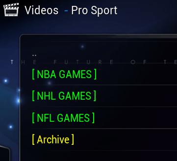 Kodi Pro Sport 2